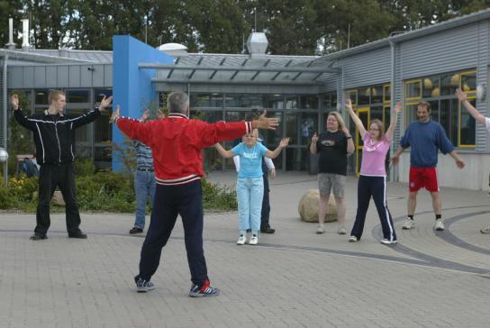 Sportliche Betätigung als Ausgleich zum Arbeitsleben