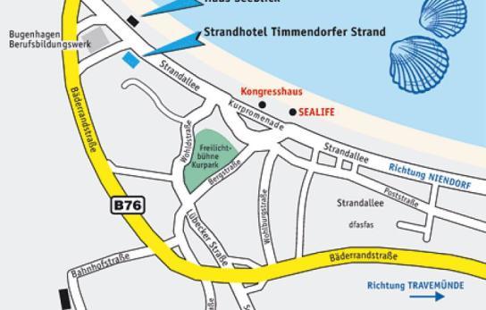 Ortsplan Timmendorfer Strand