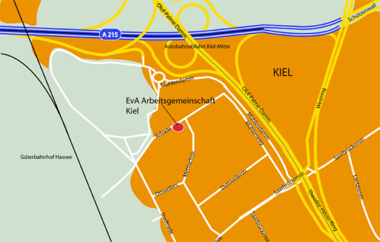 Anfahrt Kiel
