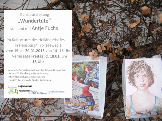 Flyer Kunstausstellung