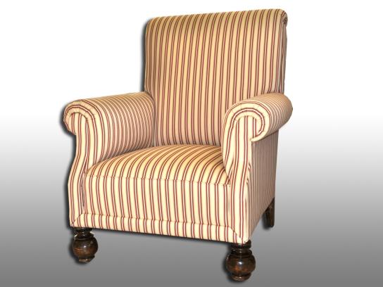 Alter Sessel. Aufgearbeitet 2010.