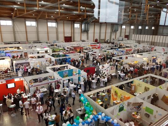 Kleiner Überblick über die Halle 6 der Messe Sinsheim GmbH