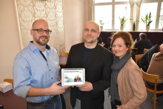 Markus Steinkötter vom Media Store der Kieler Nac
