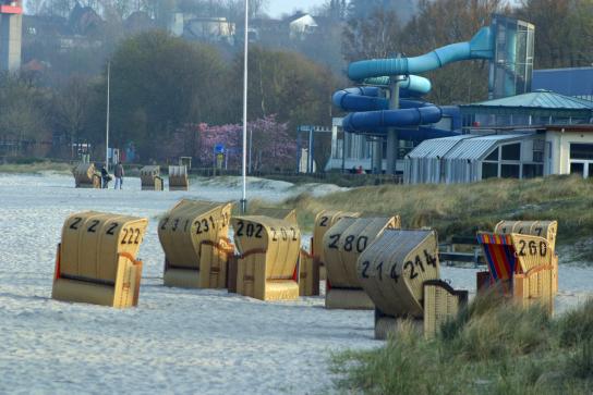 Strandkörbe in Eckernförde