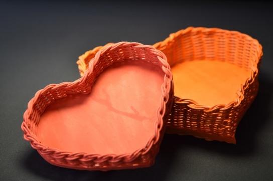 Herz-Körbchen