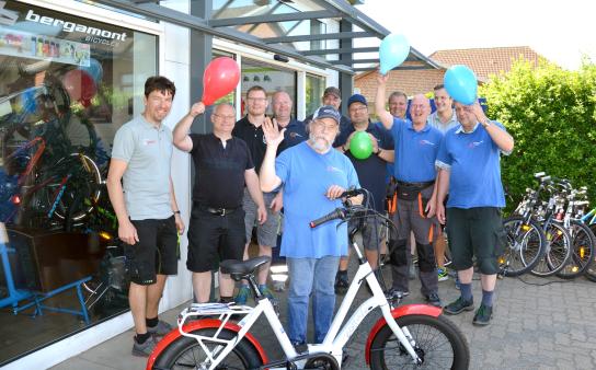 Das Team des Fahrradcenters freut sich auf Sie!