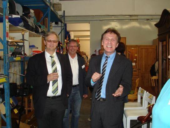 Bürgermeister Bärendorf, Manfred Ziesche und Ale