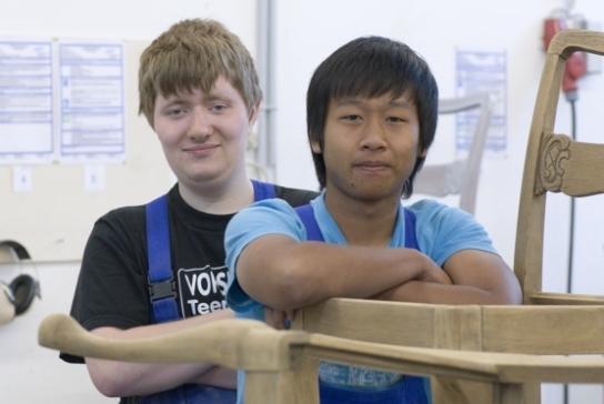 Schüler des Schulprojektes