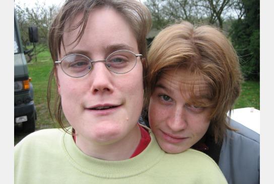 Zwei Bewohnerinnen
