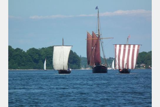 Rum Regatta Flensburg: Sigyn macht mit.