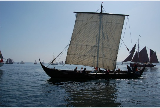 Sigyn bei der Rum Regatta auf der Flensburger Förde.
