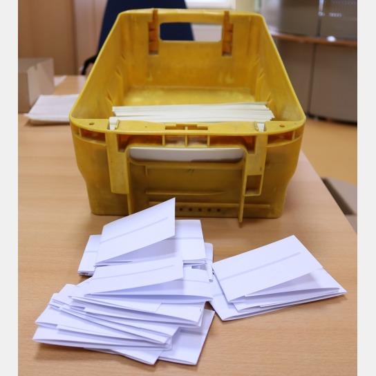 Wir verschicken gerne Ihre Post