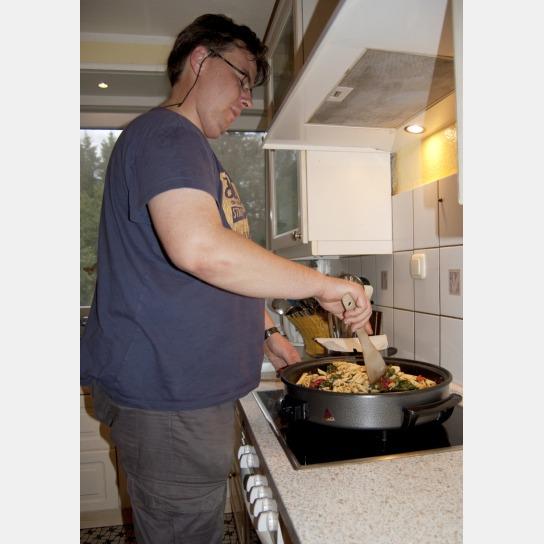 Kochen in unserer Wohngruppe Lohbarbek