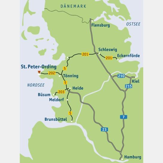 Schleswig- Holstein Karte