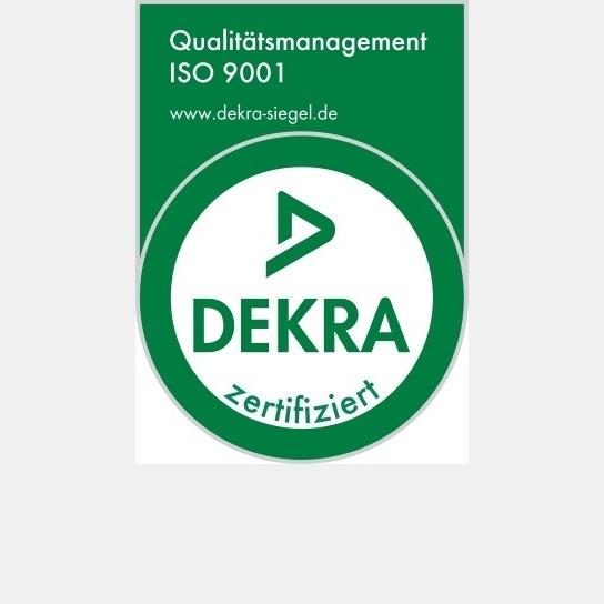 Dekra Zertifikat Metallbearbeitung und Verwaltung