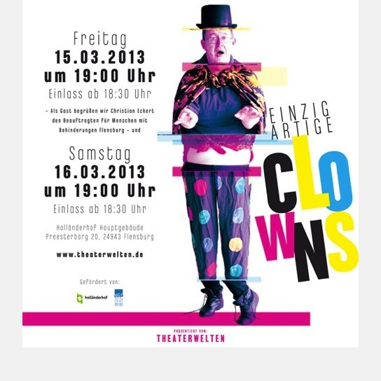 Plakat Clowns