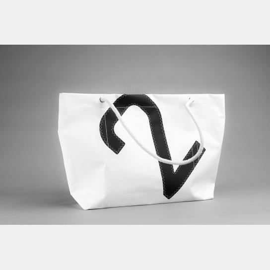 Einkaufstasche mit der Ziffer zwei