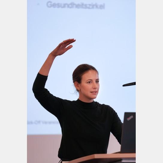Projektkoordinatorin Simone Franzin freut sich auf