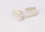 Struktur Hammerschlag 900er Gelbgold-Draht Quadrat 15 mm Artikel Nr. 52-44-64