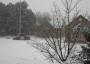Schnee bedeckter
