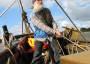 Skipper Max in Aktion an Bord der Sigyn.