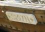 Im Runenstile: der Bootsname seitlich des Wikingerbootes - Sigyn