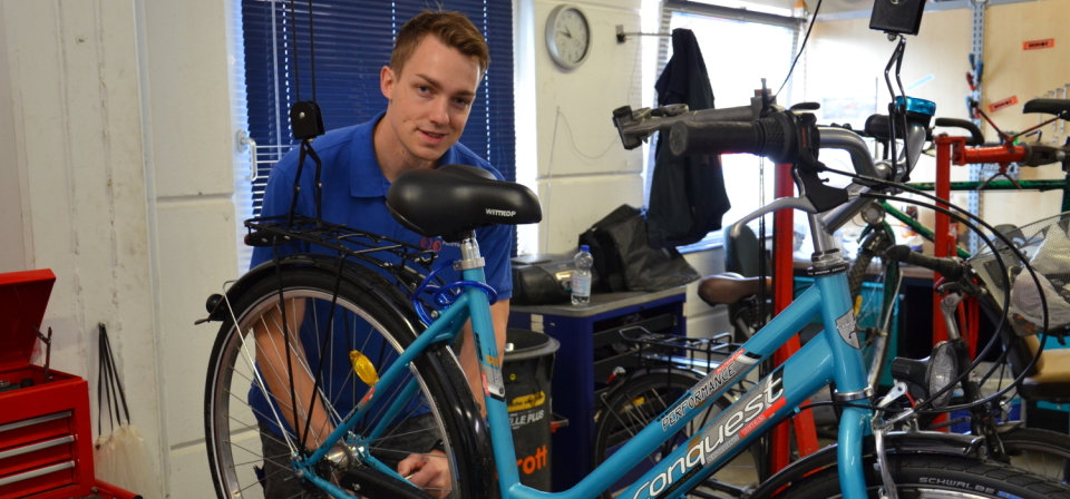 Arbeit Fahrradcenter